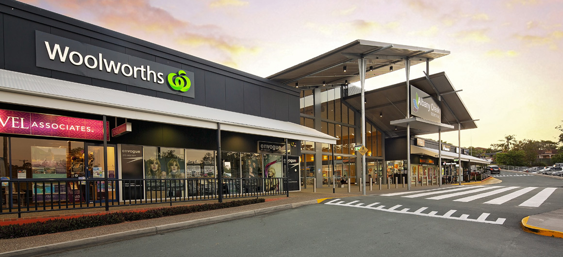 Albany Creek Shopping Centre Upgrade & rebrand