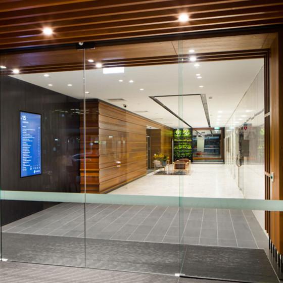 15 Adelaide Street Brisbane Entry and Foyer