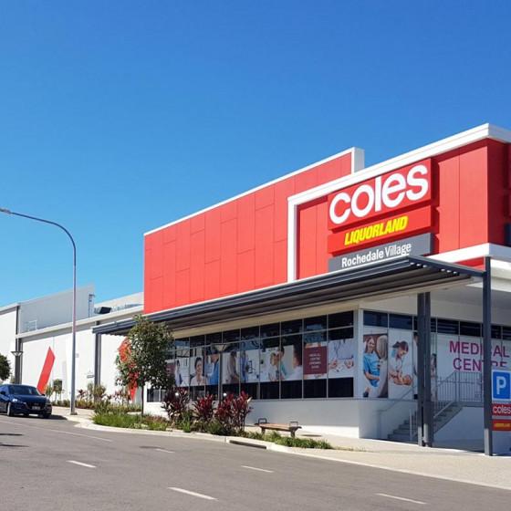 Coles Rochedale Village Shopping Centre